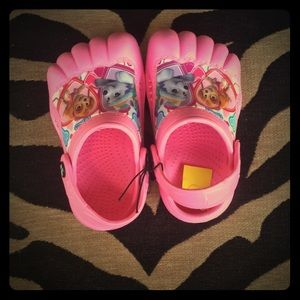 Other - Pink Rubber Clogs